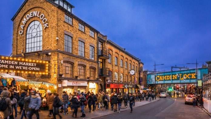 Camden Town é um dos pontos turísticos para visitar em Londres
