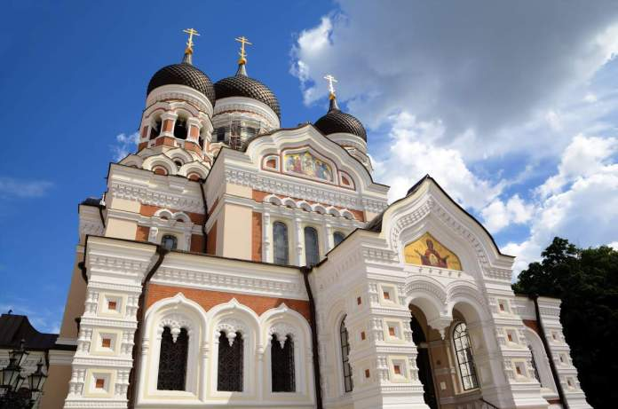 Catedral de Alexander Nevsky. Tallinn, Estônia