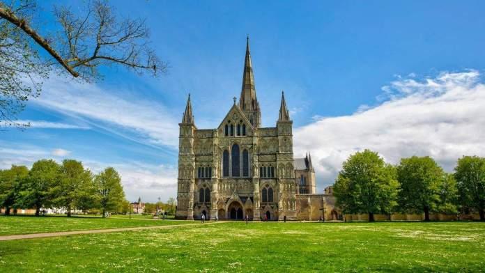 A Catedral de Salisbury, Inglaterra.