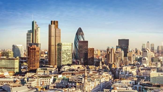 Centro Financeiro de Londres - Inglaterra