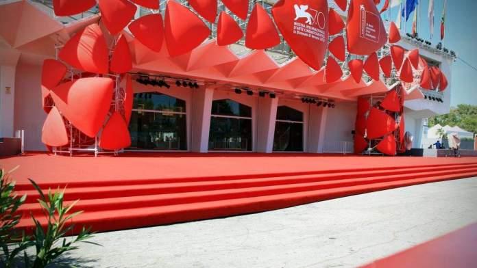 Festival de cinema internacional de Veneza, Itália.