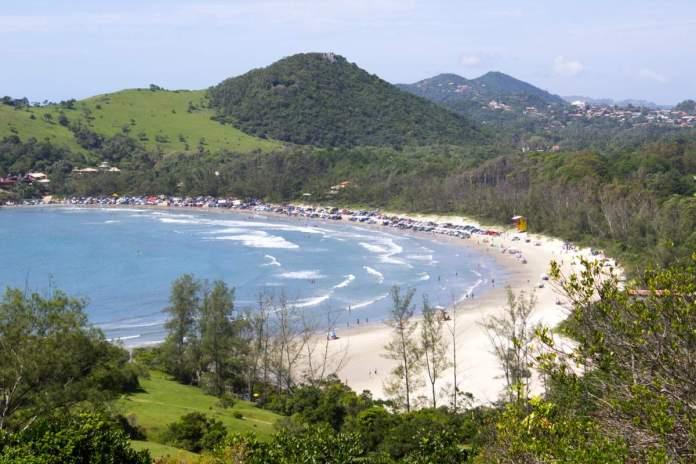 Garopaba em Santa Catarina é um dos melhores lugares para acampar no Brasil