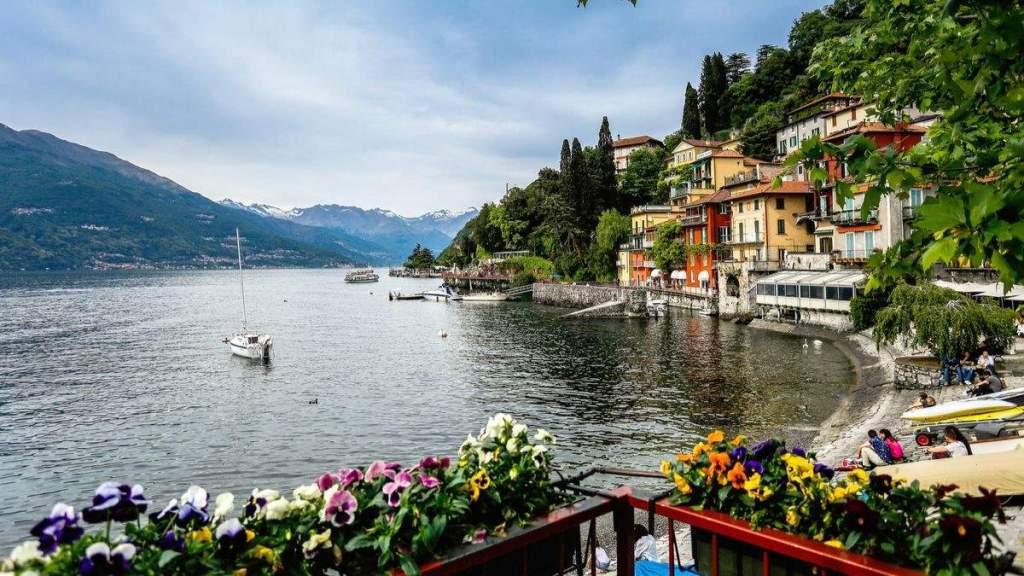 Lago de Como, Milão, Itália