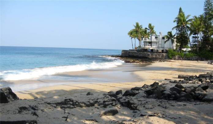 Magic Sands Beach em Big Island, Havaí