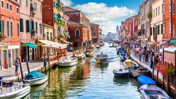 Murano em Veneza, Itália.
