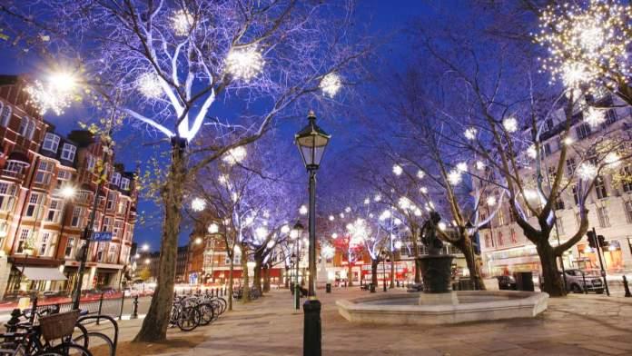 Natal Londres - Inglaterra