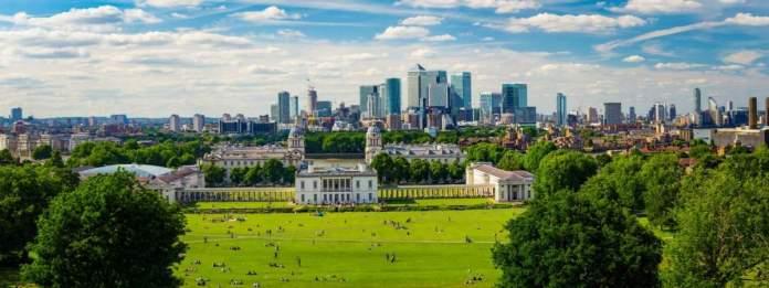 Parque de Greenwich é um dos pontos turísticos para visitar em Londres