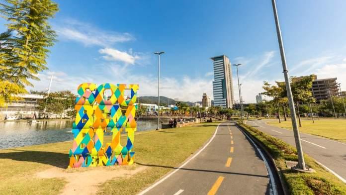 Parque Ramiro Ruediger em Blumenau, Santa Catarina