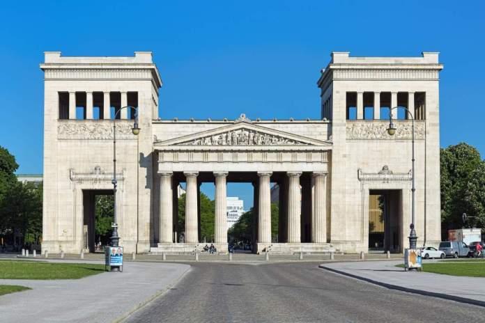 Propylaea em Munique - Alemanha