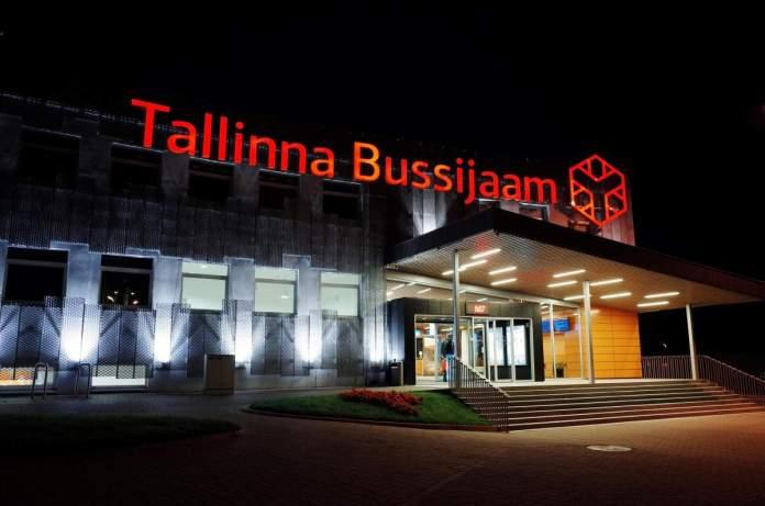 Rodoviária de Tallinn, Estônia