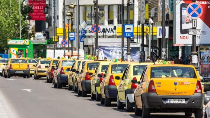 Táxis em Bucareste, Romênia