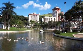 Águas de Lindóia é uma das cidades que fazem parte do Circuito das Águas Paulista