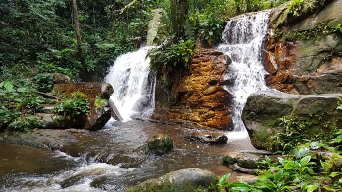 Cachoeira da onça em Presidente Figueiredo - Amazonas