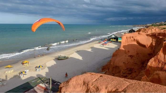 Praia de Canoa Quebrada em Fortaleza - Ceará