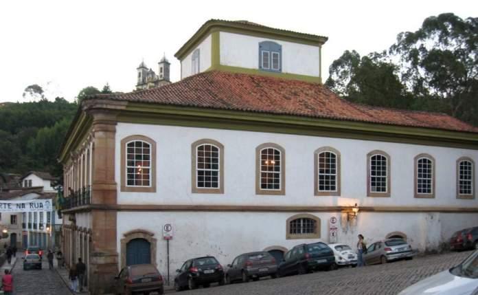 Casa dos Contos em Ouro Preto - Minas Gerais