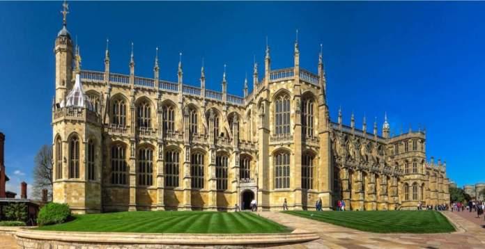 St. Capela de George no Castelo de Windsor, Inglaterra