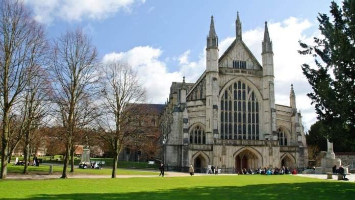 Catedral de Winchester, Inglaterra.