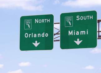 Como ir de Miami a Orlando