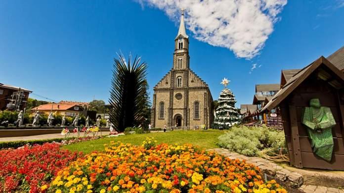 Igreja Matriz em Gramado - Rio Grande do Sul