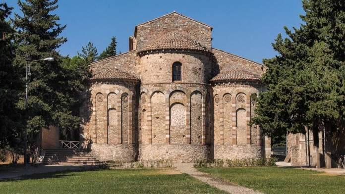 Igreja Santa Maria del Patire, Rossano, Calábria, Itália.