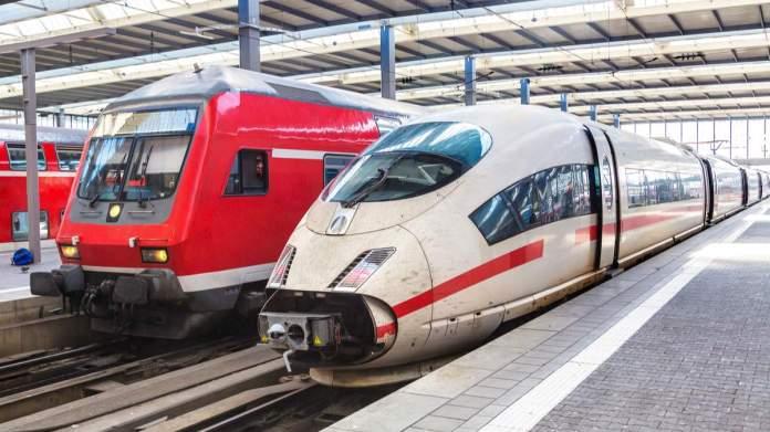 Trem em Munique - Alemanha