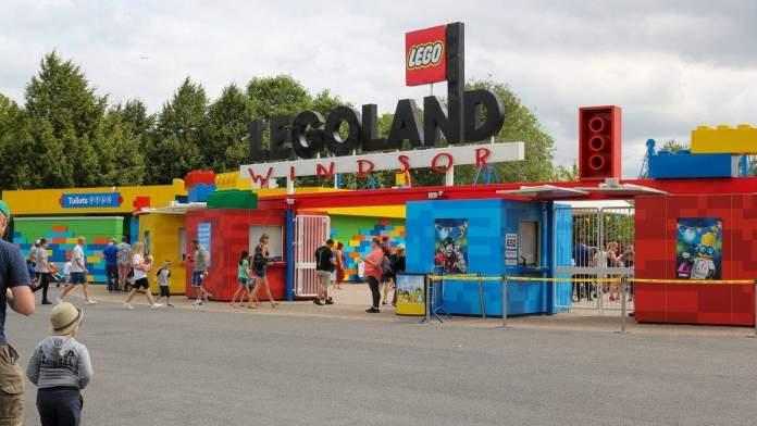 Parque temático Legoland em Windsor, Inglaterra.