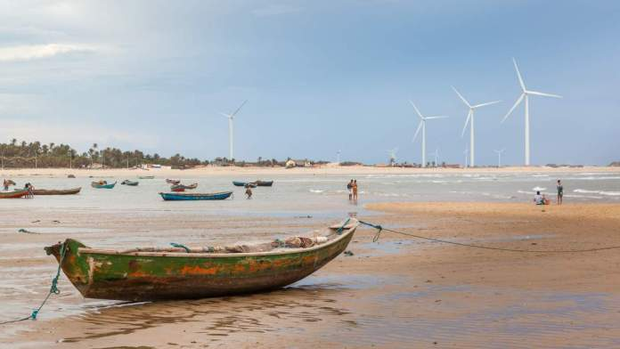Praia Pedra do Sal em Parnaíba - Piauí
