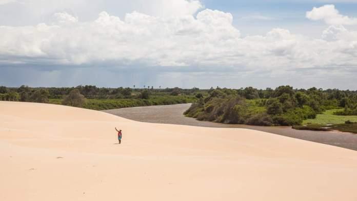 Delta do Parnaíba em Ilha Grande - Piauí