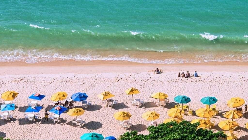Praia de Iracema em Fortaleza - Ceará