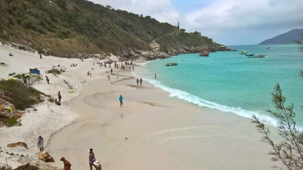 Praia do Farol em Arraial do Cabo - Rio de Janeiro
