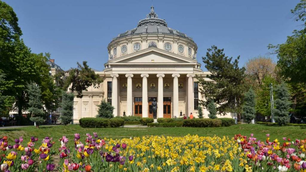 Primavera em Bucareste, Romênia
