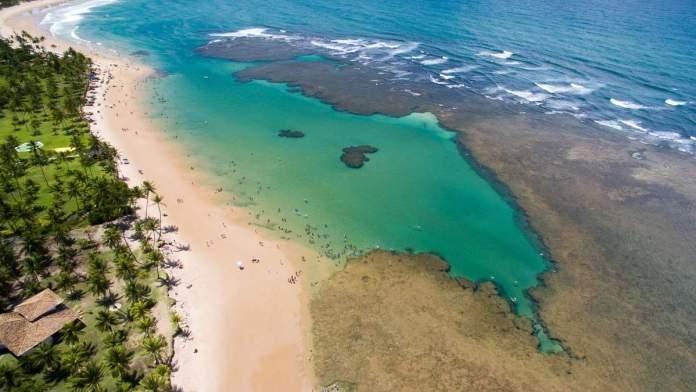 Taipu de Fora na Bahia é um dos melhores lugares para acampar no Brasil