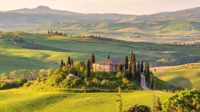 Toscana na Itália é um dos destinos baratos para viajar em setembro de 2020