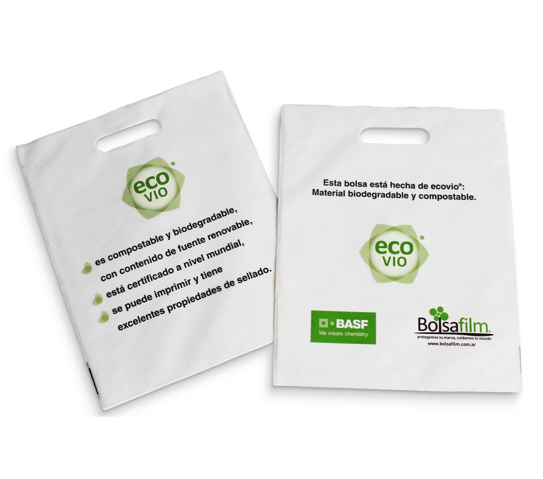 54d21a96e Bolsas compostables - Material ECOVIO - Bolsafilm S.A. - Fabrica de ...