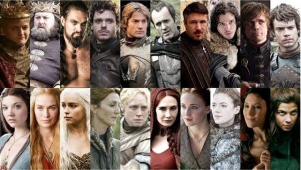 Te Has Fijado En Que Estos Actores De Juego De Tronos Nunca