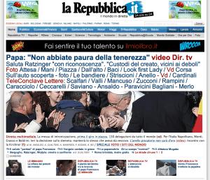 Repubblica-papa-francesco