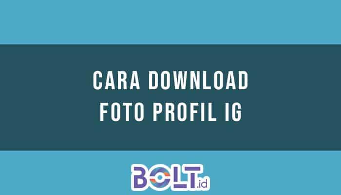 Download foto profil ig