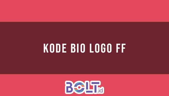 Kode Bio Logo FF