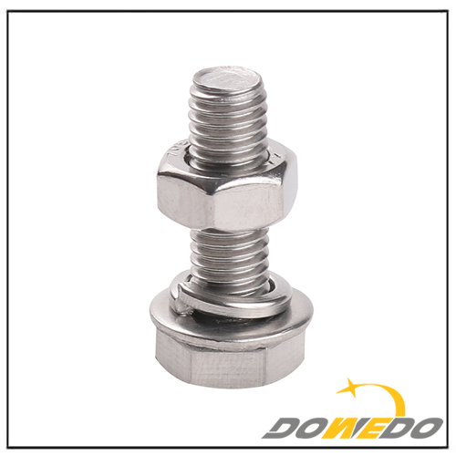 Din Standard Galvanized Bolt and Nut