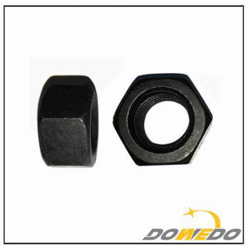 High Strength Steel Black Hex Nut