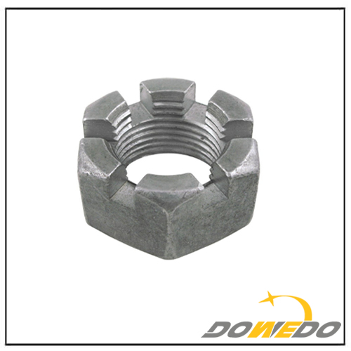 Hex Tie Rod Castle Nut