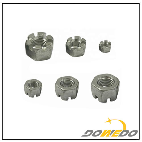 Slotted Hex Castle Nut