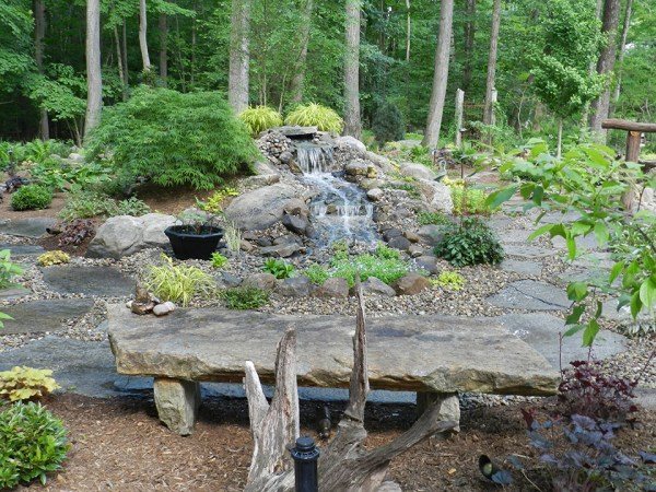 landscaping with boulders bolton