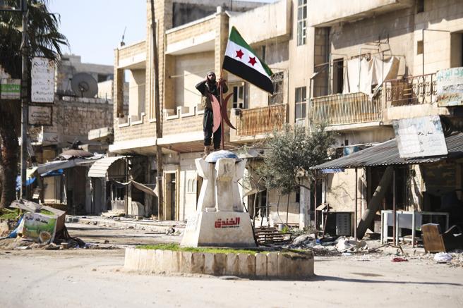 Centro de Saraqeb, Idlib, Syria
