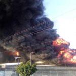 Venezuela. Gobierno Nacional revela evidencias de acciones terroristas en incendio a galpones del CNE