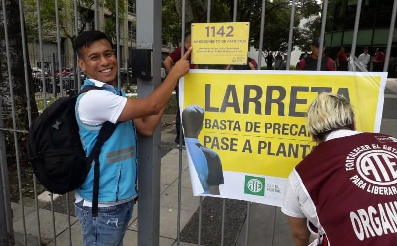Precarizados del área de Prevención de la Ciudad movilizaron en reclamo de aumento y pase a planta