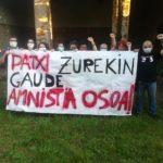 Euskal Herria. El preso vasco Patxi Ruiz está de nuevo en la cárcel / A partir de ahora solo hará huelga de hambre