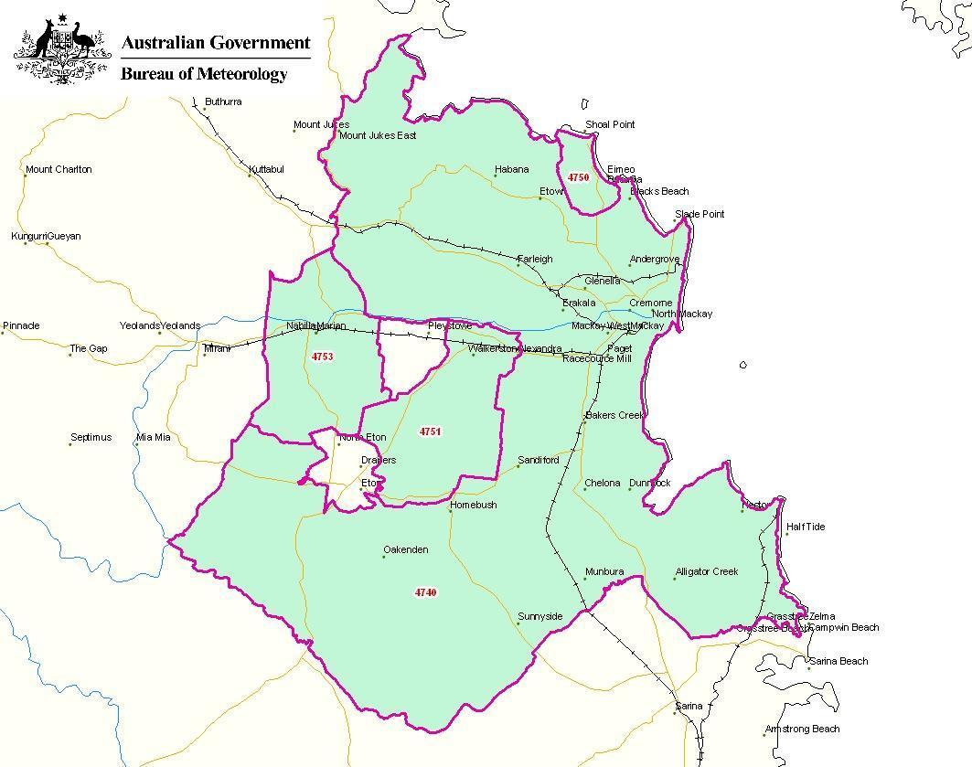 Bundaberg Flood Map