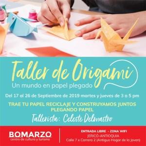 Taller de Origami @ Bomarzo Centro de Cultura y Turismo