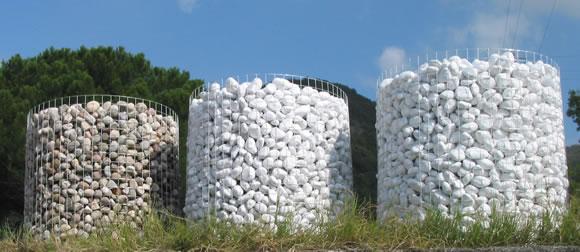 Ciottoli di marmo  Bombardieri granulati marmo